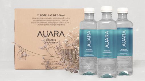 Agua Auara con fines sociales