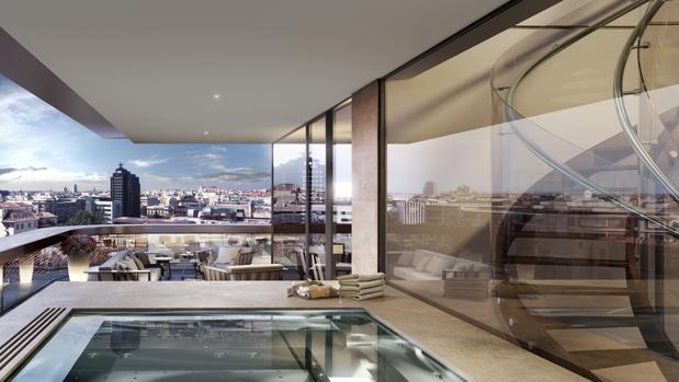 As es por dentro y por fuera el edificio m s caro de madrid - Duplex en madrid ...