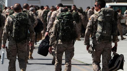 Imagen de archivo de las tropas en Afganistán, en 2013