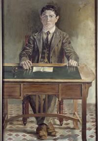 «Autorretrato» (1921)