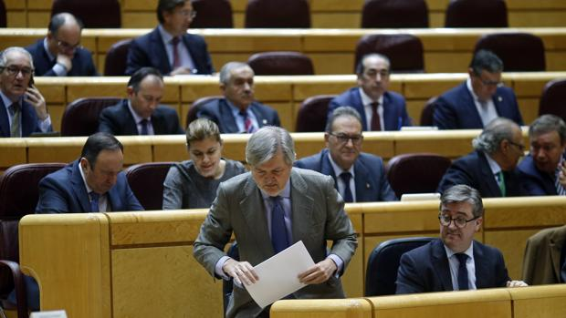 Imagen de Méndez de Vigo tomada en el Senado