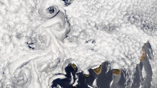 Diez espectaculares fotos de Canarias desde el espacio