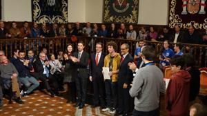 Alberto Acosta ha logrado el pasaporte para participar en la 58 Olimpiada Internacional de Matemáticas y en la 32 Olimpiada Iberoamericana de Matemáticas que se celebrará en julio en Río de Janeiro (Brasil) y en septiembre en Argentina, respectivamente