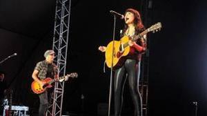 Amaral ya actuó en Toledo el 6 de junio de 2012