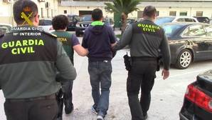 Imagen del italiano detenido por tráfico de cocaína