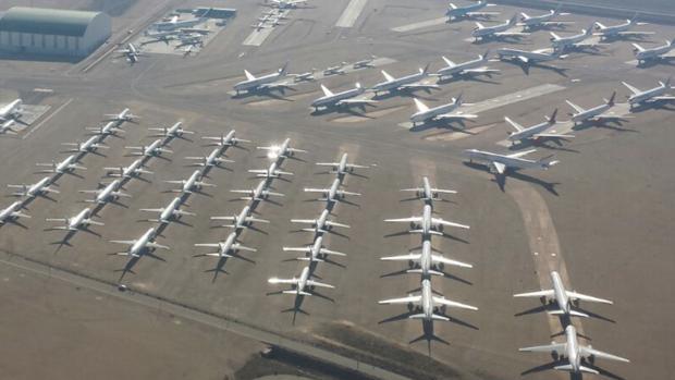El aeropuerto de teruel dispara su actividad m s de for Alquiler de casas en aeropuerto viejo sevilla