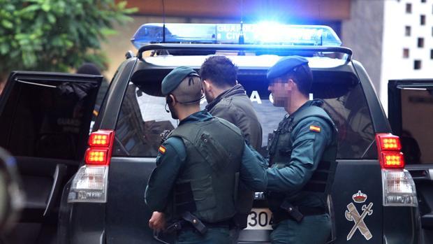 Detención por sospechas de enaltecimiento el pasado octubre en Calahorra