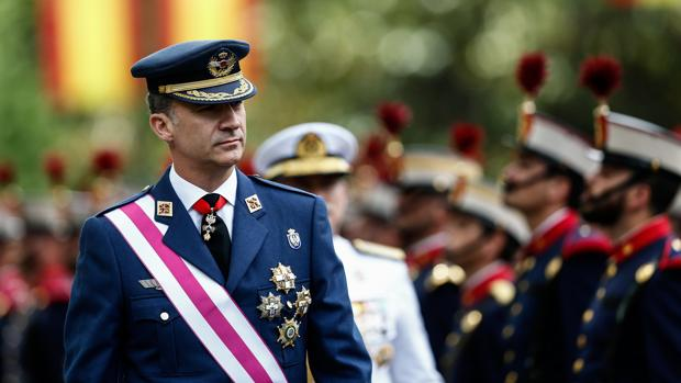 Desfile del Día de las Fuerzas Armadas en Madrid