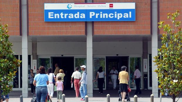 Imagen de archivo del hospital Severo Ochoa de Leganés