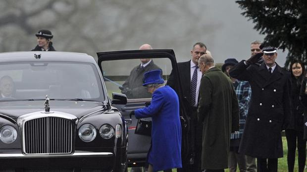 La realeza inglesa es protegida por la Royal Protection Squad