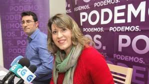 La secretaria general de Podemos en Galicia, Carmen Santos