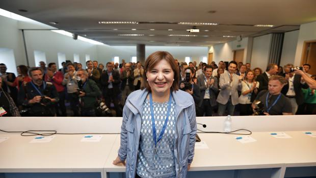 Isabel Bonig, este domingo en la clausura del congreso del PPCV