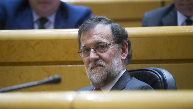 Imagen de Mariano Rajoy en una sesión de control del Gobierno