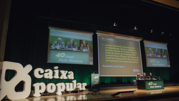 Cuarenta a os de caixa popular el modelo de xito del for Oficinas de caixa popular en valencia