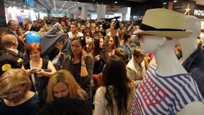 Inauguración de una tienda de una conocida cadena de ropa en Alicante