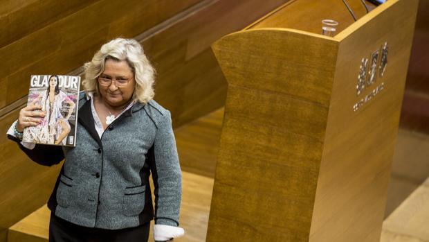 Imagen de la diputada del PP María José Ferrer San-Segundo