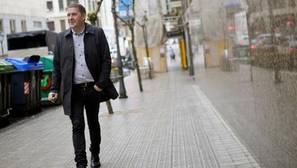 Arnaldo Otegui, ayer en Bilbao donde se leyó un manifiiesto de apoyo al desarme