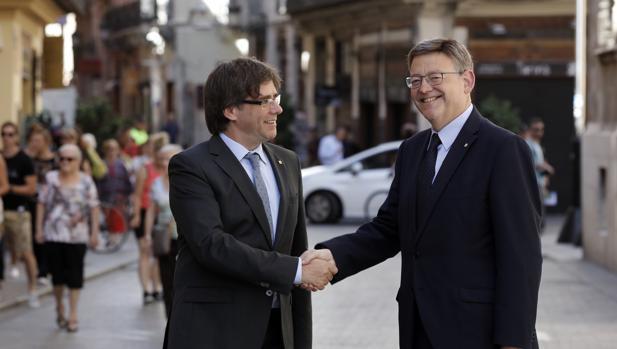 PUIGDEMONT DESTINA 1.57 MILLONES DE EUROS AL CATALANISMO EN VALENCIA