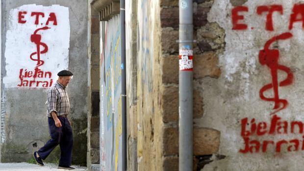 Imagen antigua de las calles de Goizueta