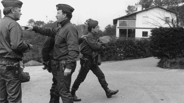 Detención de la cúpula de ETA en Bidart en 1992