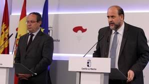 Juan Alfonso Ruiz Molina y José Luis Martínez Guijarro, en la rueda de prensa