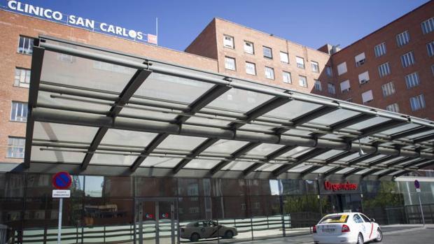 Imagen de archivo del hospital clínico San Carlos