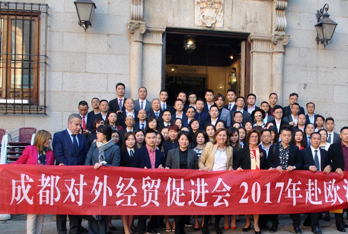 Un centenar de empresarios chinos visitan toledo para conocer los muebles de sonseca - Muebles aragon madrid ...