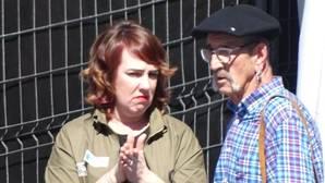 Ainhoa Aznárez (Podemos) con el etarra Josu Zabarte