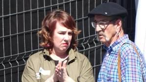 Ainhoa Aznárez habló el sábado en Bayona con el «carnicero de Mondragón»
