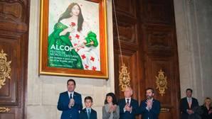 El alcalde y el presidente del Casal, en la presentación del cartel anunciador y la revista de fiestas, hace unos días