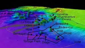 El mineral se ha encontrado en Tropic, ubicado en aguas territoriales de España
