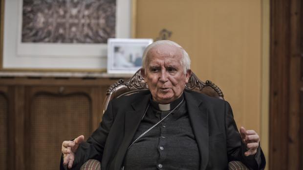 Imagen del cardenal Cañizares