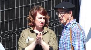 Ainhoa Aznárez, con el etarra Josu Zabarte, «carnicero de Mondragón»