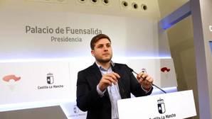 Nacho Hernando, portavoz del Gobierno regional