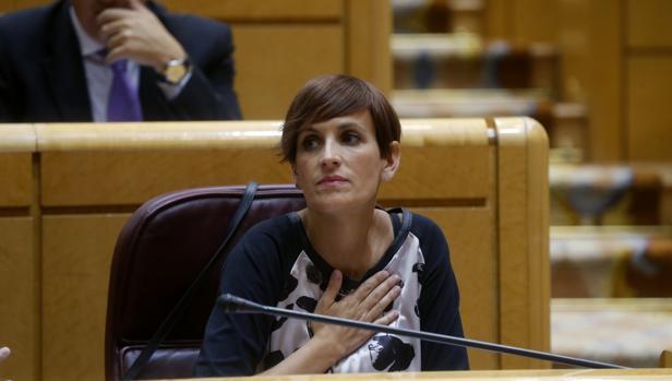 María Chivite, secretaria general del PSOE en Navarra