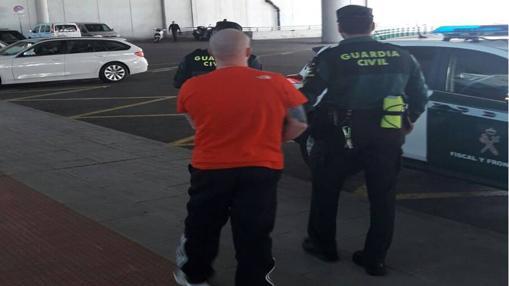 Unos de los detenidos