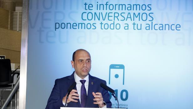 Imagen del alcalde de Alicante, Gabriel Echávarri