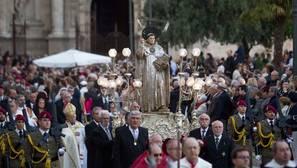 Imagen de la procesión a San Vicente Ferrer en Valencia
