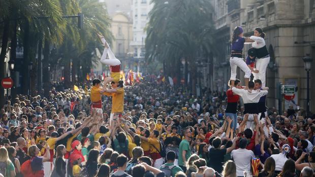 Imagen de la manifestación del pasado año