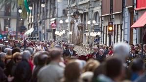 Imagen de un procesión en honor a San Vicente Ferrer