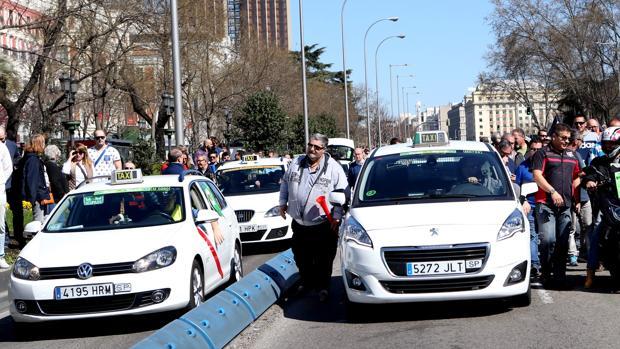 Imagen de la protesta de marzo en Madrid