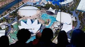 Imagen de la presentación de la «app» Google Earth en Nueva York