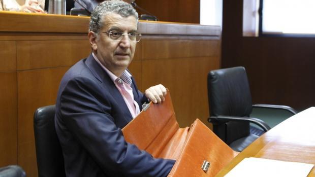 Sebastián Celaya, consejero de Sanidad del Gobierno aragonés