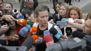 La madre de Diana Quer, durante una comparecencia anterior ante los medios de comunicación