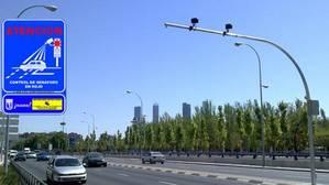 Las multas de tráfico en Madrid se dispararon un 35% en el primer trimestre de 2017