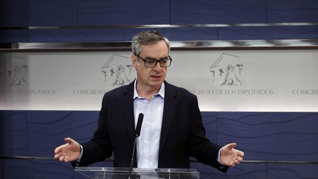 El secretario general de Ciudadanos, José Manuel Villegas, la semana pasada
