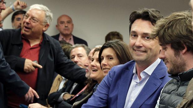 Vicente Betoret, en la Junta Directiva Provincial de este miércoles