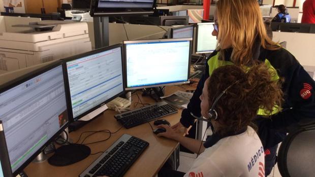 Mécdicos del Servicio Urgencias Canario