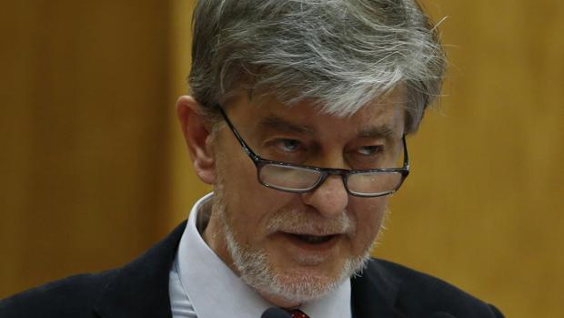 Pedro Santisteve, alcalde de Zaragoza por la coalición ZEC (Podemos-IU)