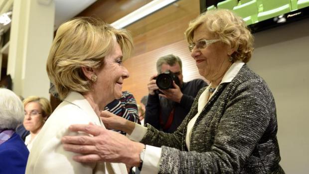 Aguirre y Carmena en una imagen de archivo